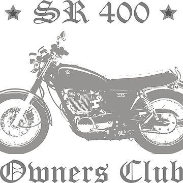 Sr 400 Owners Club Light Grey by Skripach