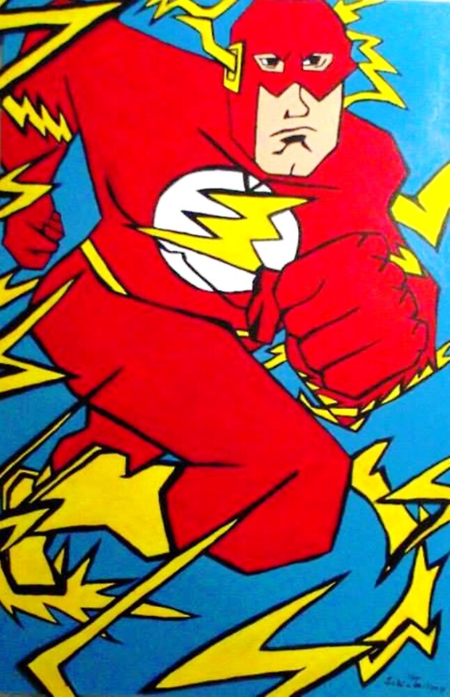 Speed force by Tom Schinderling