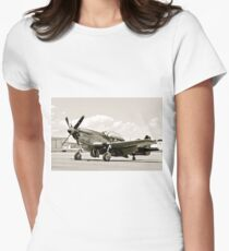 P-51 Classic Mustang WW2 Fighter Plane T-Shirt
