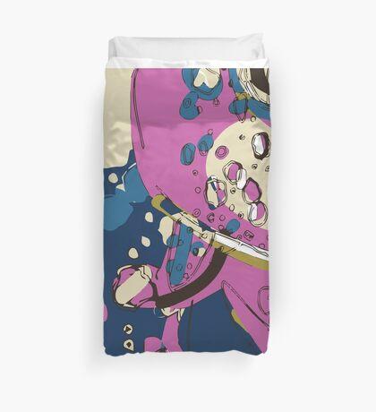 Spacey garden abstract Duvet Cover