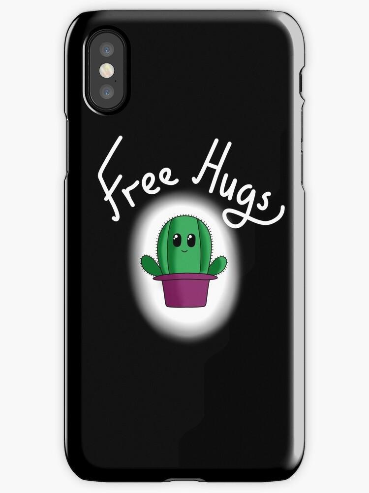 Free Cactus Hugs by IdeasByMe