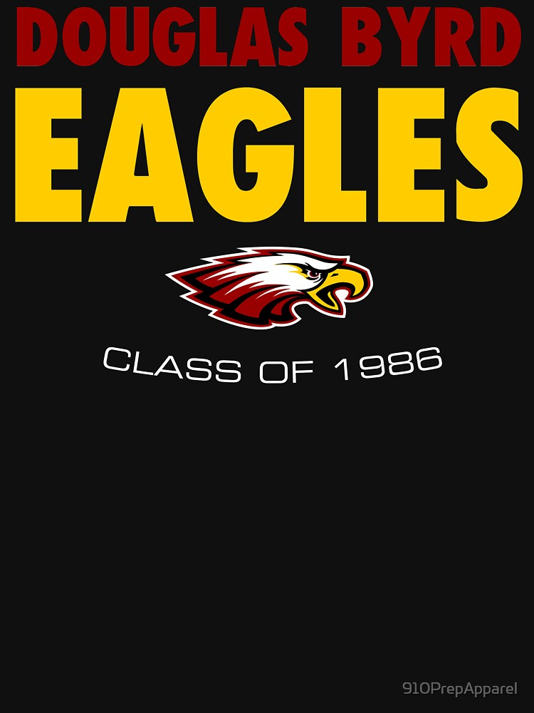 Douglas Byrd Eagles 1986 by 910PrepApparel