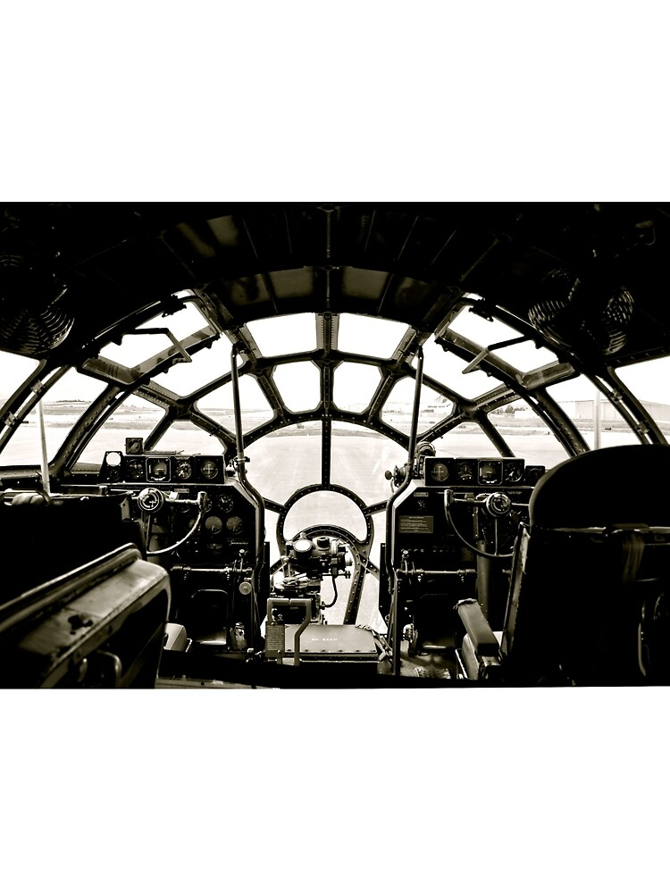 B-29 Bomber Cockpit by Scubagirlamy