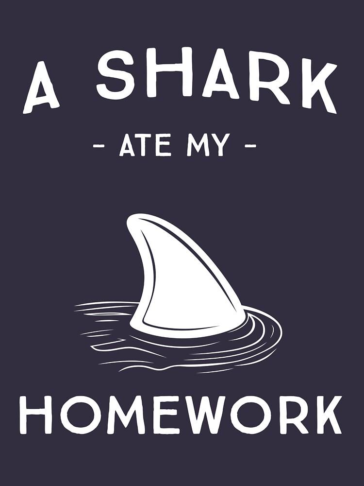 A Shark Ate My Homework by trends