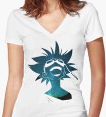 Radical Ed  Women's Fitted V-Neck T-Shirt