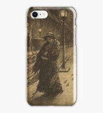 A Winter's Night - Victorian Age iPhone Case/Skin