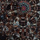Refraction Over Fractal II by Hugh Fathers