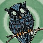 Evil Owl by strangethingsA