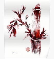 INSPIRIT - Chinese wash painting Poster