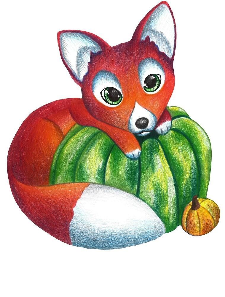 Autumn fox by RileyShot
