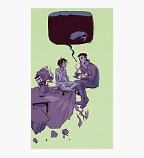 tea party in the void Photographic Print