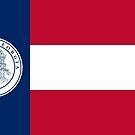 Flag of Georgia, 1920-1956 by abbeyz71