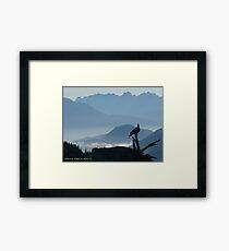 Blue Ridge Beauty Framed Print