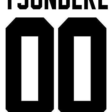 Tsundere Jersey: Blank by ngud