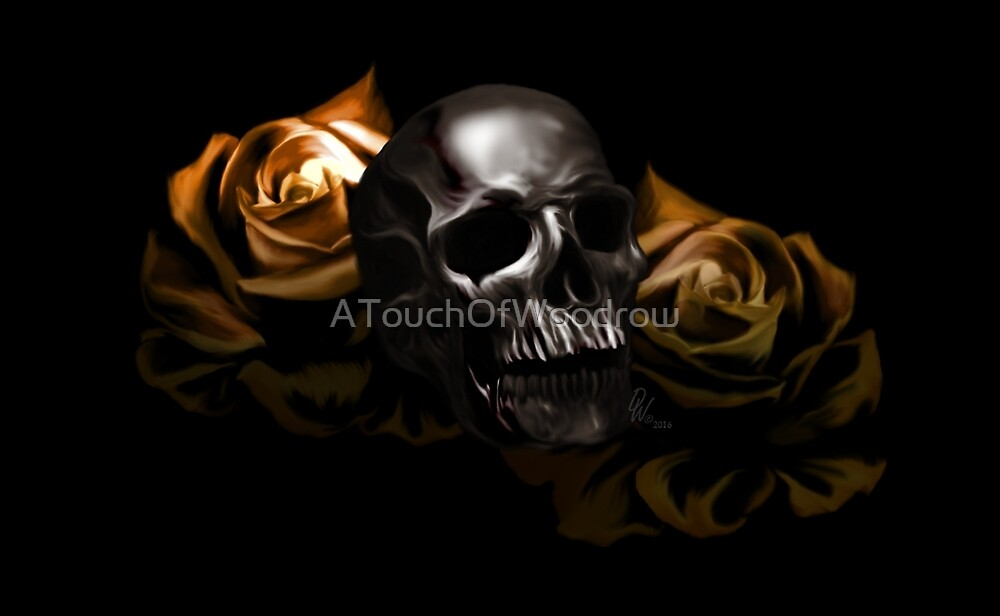 DeathPettals Yellow by ATouchOfWoodrow