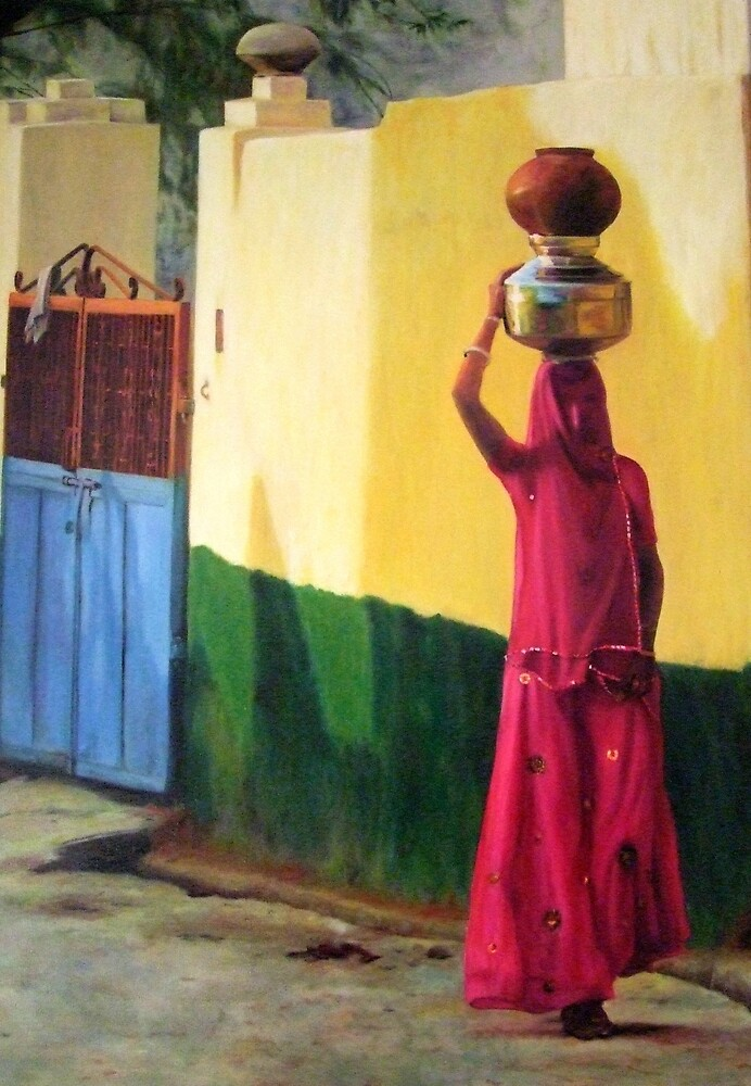 The Water Carrier by Nita Clifton