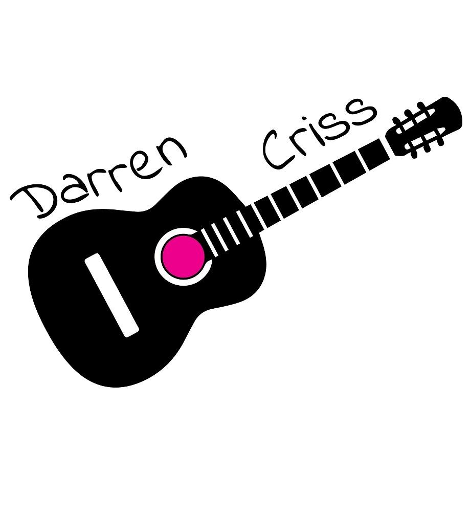 Darren Criss Guitar by wavingbyawindow