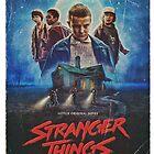 Stranger things by LazyLatte
