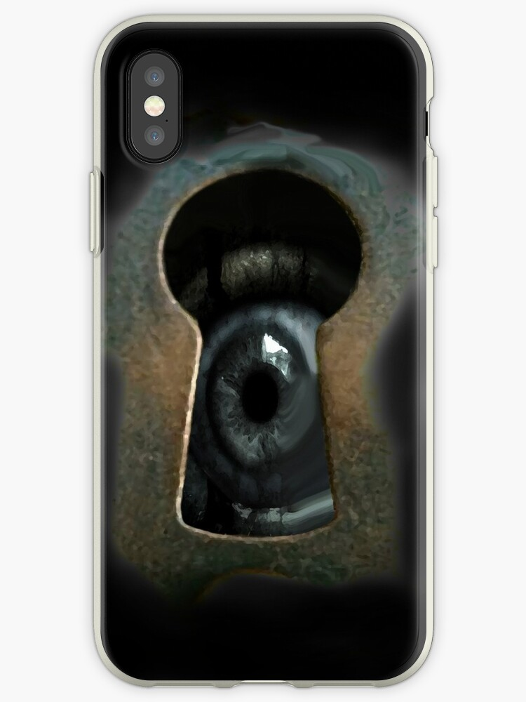Creature through the keyhole by Mad Monkey