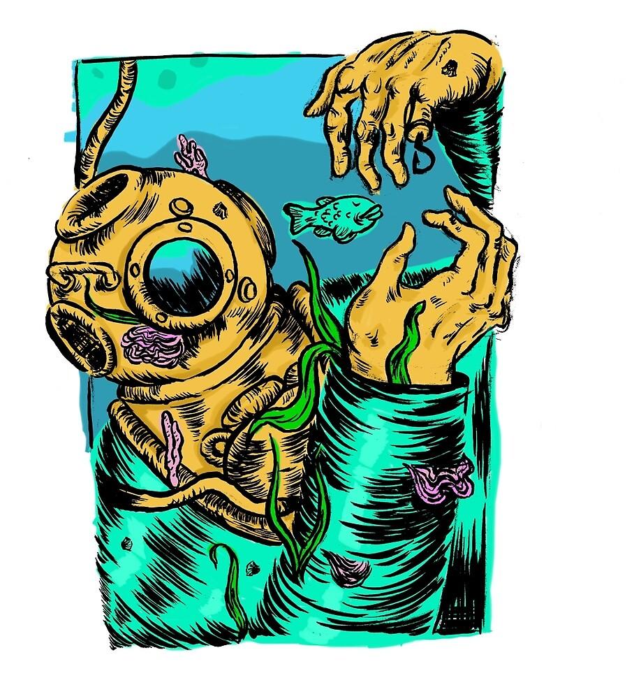 Ocean Man by likeatoaster