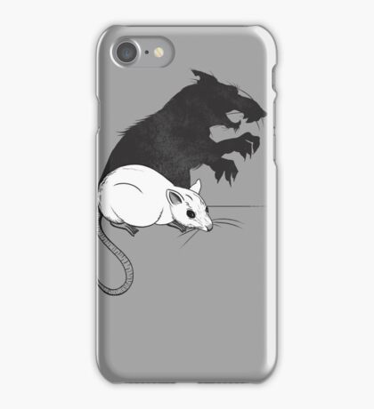 The Strange Case of Dr. Mouse and Mr. Rat iPhone Case/Skin