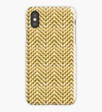 Golden dragon scales iPhone Case/Skin