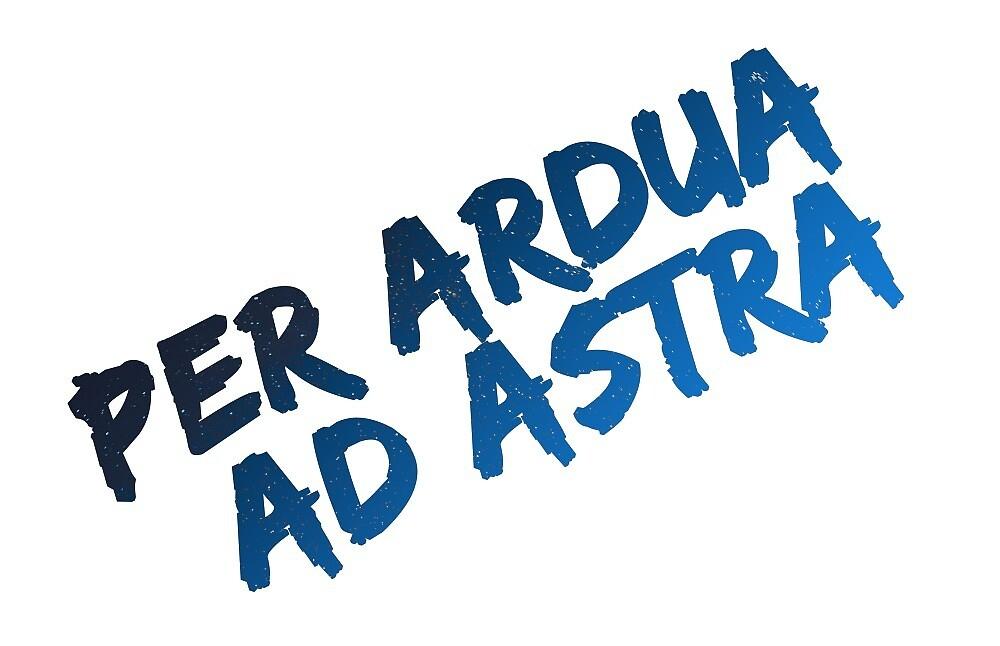 PER ARDUA AD ASTRA by hyogi