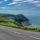 Lynmouth Bay Devon by Avril Harris