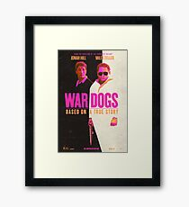 War Dogs Framed Print