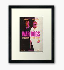 War Dogs Framed Print