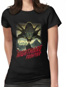 THE NIGHTMARE FRONTIER Womens Fitted T-Shirt