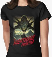 THE NIGHTMARE FRONTIER Women's Fitted T-Shirt