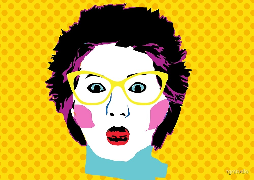 Lee Lin Chin for PM Pop Art by tgrstudio