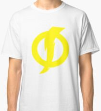 Camiseta clásica Símbolo de descarga estática