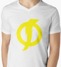 Static Shock Symbol Men's V-Neck T-Shirt