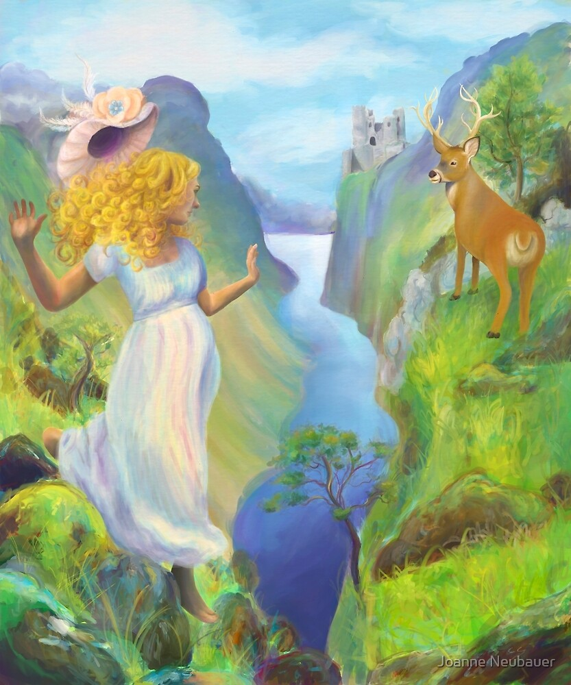 A Leap Through the Moors  by Joanne Neubauer