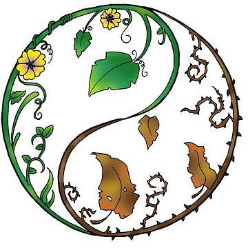 Yin Yang by Green9Designs