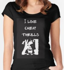 Cheap Thrills Women's Fitted Scoop T-Shirt
