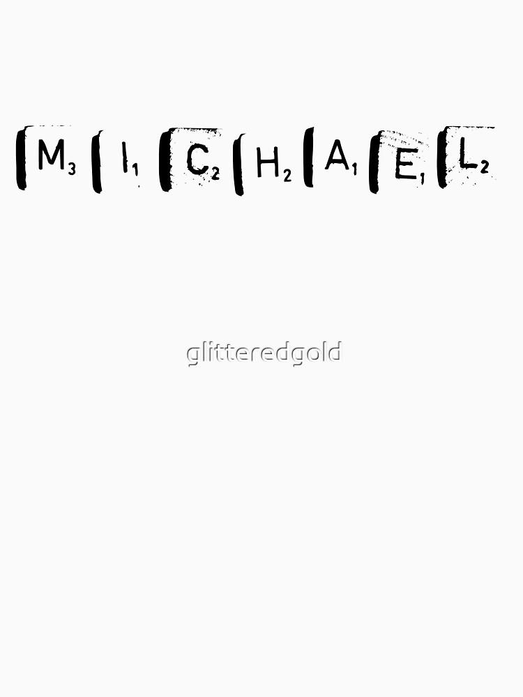 MICHAEL by glitteredgold