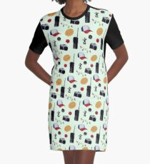 Stranger Things Graphic T-Shirt Dress
