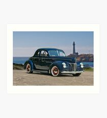 1940 Ford Deluxe Coupe II Art Print