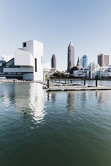 Cleveland Ohio Skyline (Rock Hall) by HoellerPhoto
