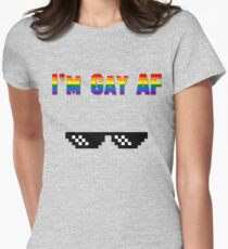 Deal With It (LGBTQI) #1 Women's Fitted T-Shirt