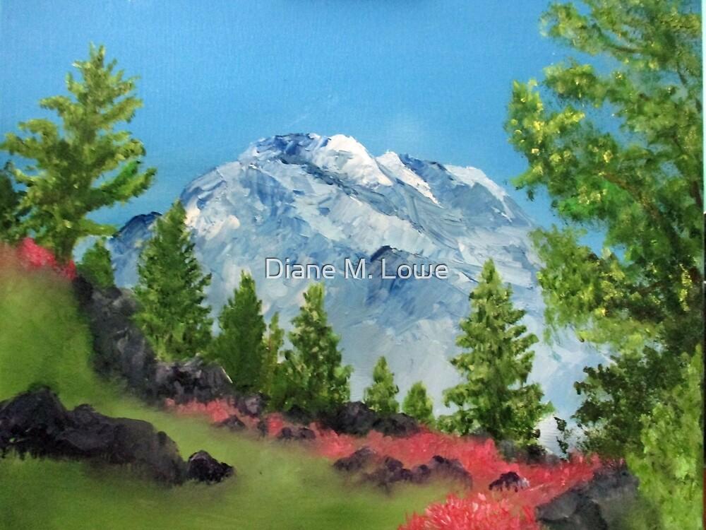 Majestic Tetons by Diane M. Lowe