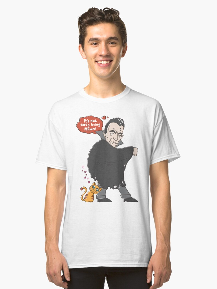 Vlad Doomsly (It's Not Easy Being MEan) Classic T-Shirt Front