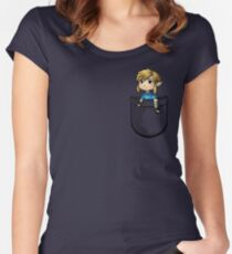 Pocket Link BOTW Zelda Women's Fitted Scoop T-Shirt