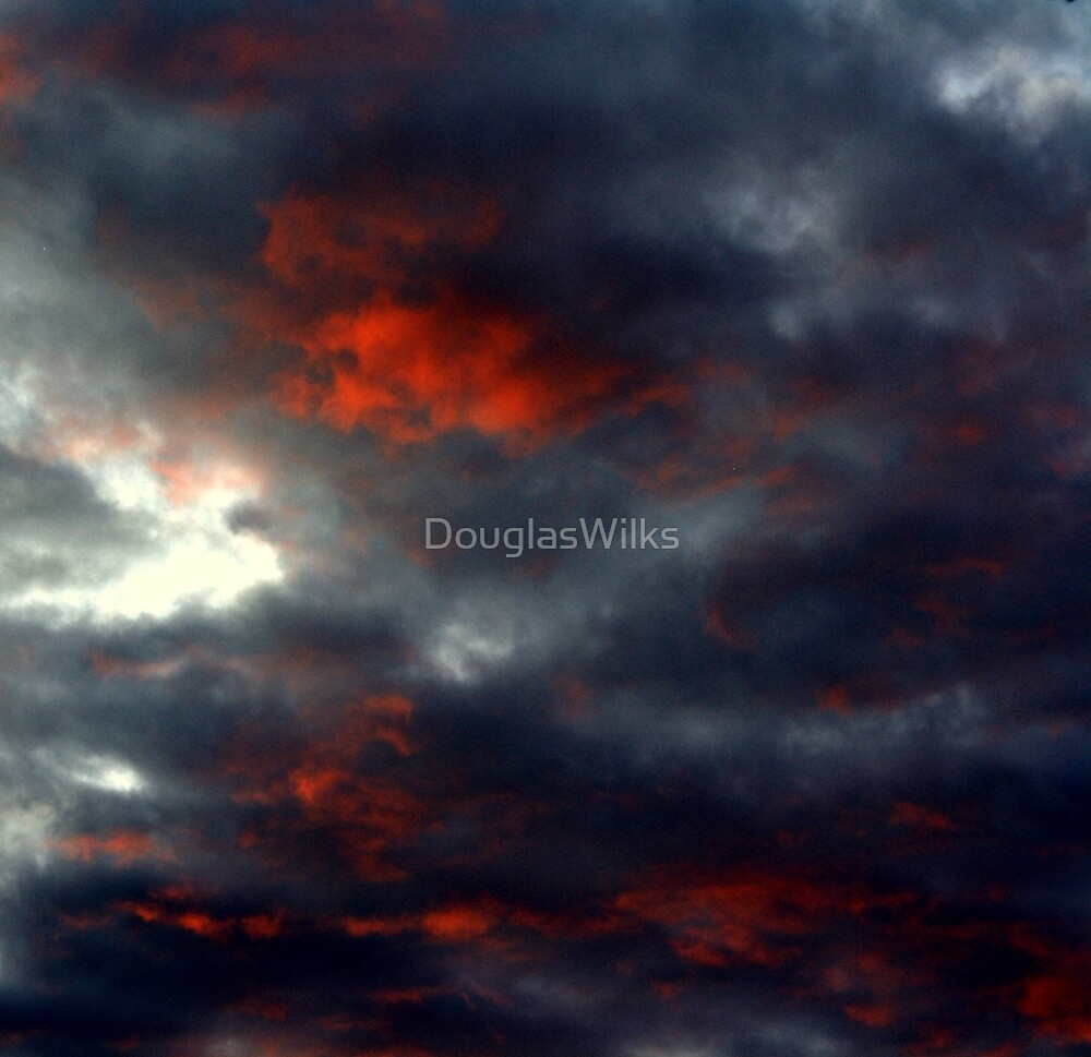 Red September Clouds  by DouglasWilks