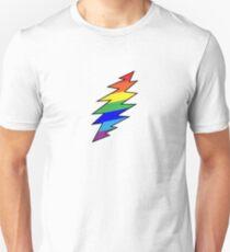 Rainbow Bolt Unisex T-Shirt