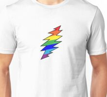 Rainbow Bolt Unisex T-Shirt