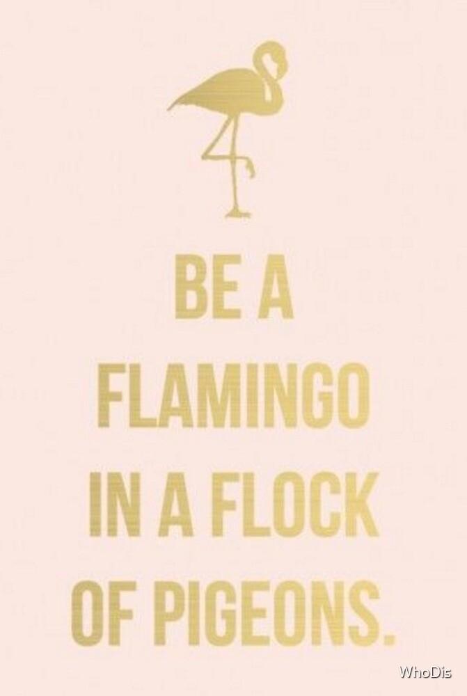 Flamingo by WhoDis